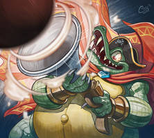King K. Rool Musket Fire by Curly-Artist
