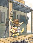 Sheriff Pikachu