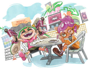 Splatoon2 Booklet Cover