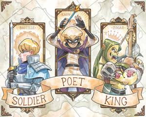 Soldier Poet King
