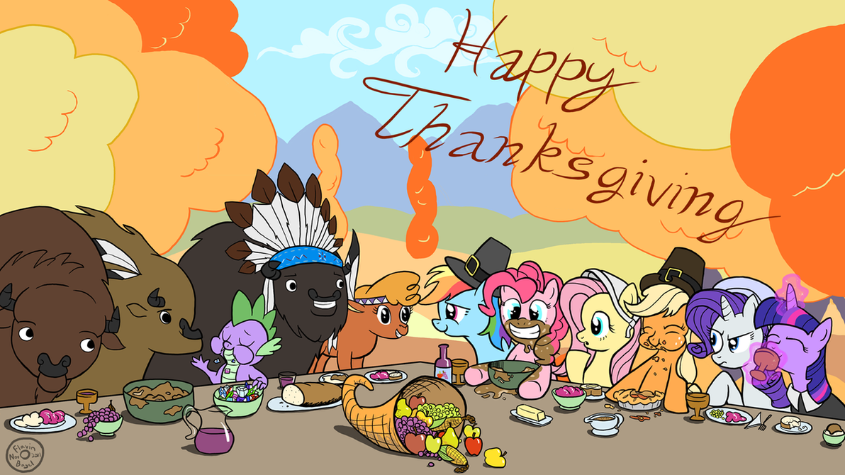 Thanksgiving Pones by FlavinBagel