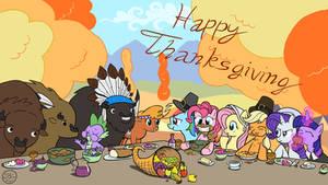 Thanksgiving Pones