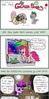 Ponies at Play