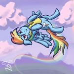 Ponies in Clothes - Rainbow Dash