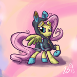 Ponies in Clothes - Fluttershy