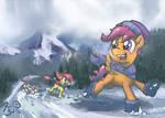 Winter Racing Funtimes