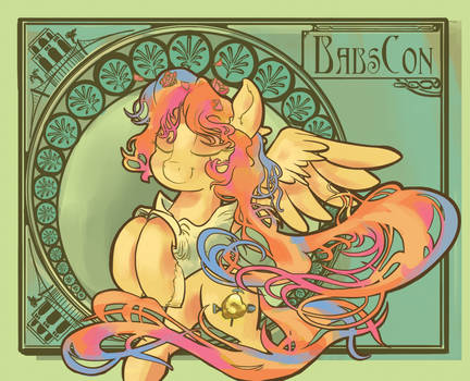 BabsCon 2016 Badge