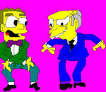 Burns and Smithers Dancing 1