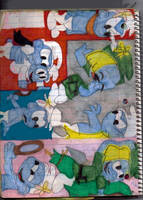Vanity Smurf Collage 2 by RozStaw57