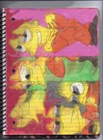 SSB Drawings 7 by RozStaw57