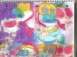 R + S Fan Art 6 by RozStaw57