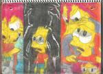 Simpsons Horror Movie Poster Parodies 1