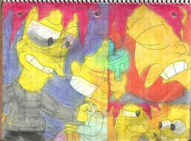 Sideshow Bob 8 by RozStaw57