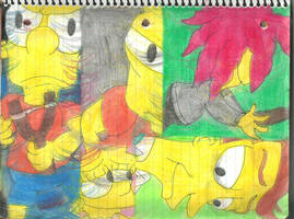 More of The Simpsons 4 by RozStaw57