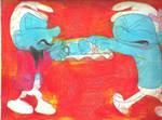 Sketch Pad Smurfs 1