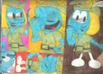 Sketch Pad Vanity Smurf 1