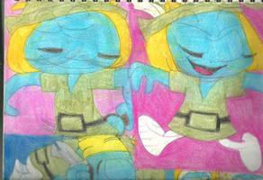 Sketch Pad Vanity Smurf 3 by RozStaw57