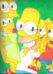 Sketch Pad Simpsons Family 1