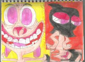 Psycho Ren 2 by RozStaw57