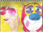 Ren and Stimpy After a Physical