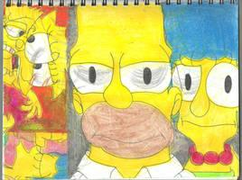 Season 25 Simpsons by RozStaw57