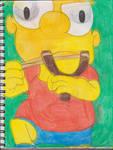 Bart With Slingshot 1