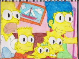 Simpsons Couch Gag by RozStaw57