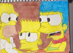 Marge Mad at Homer by RozStaw57