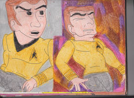 Captain Kirk TAS by RozStaw57
