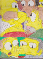 Smithers at Moe's 1 by RozStaw57