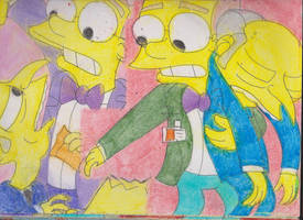 Burns and Smithers Together 2 by RozStaw57