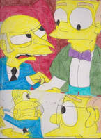 Burns and Smithers Together 4 by RozStaw57