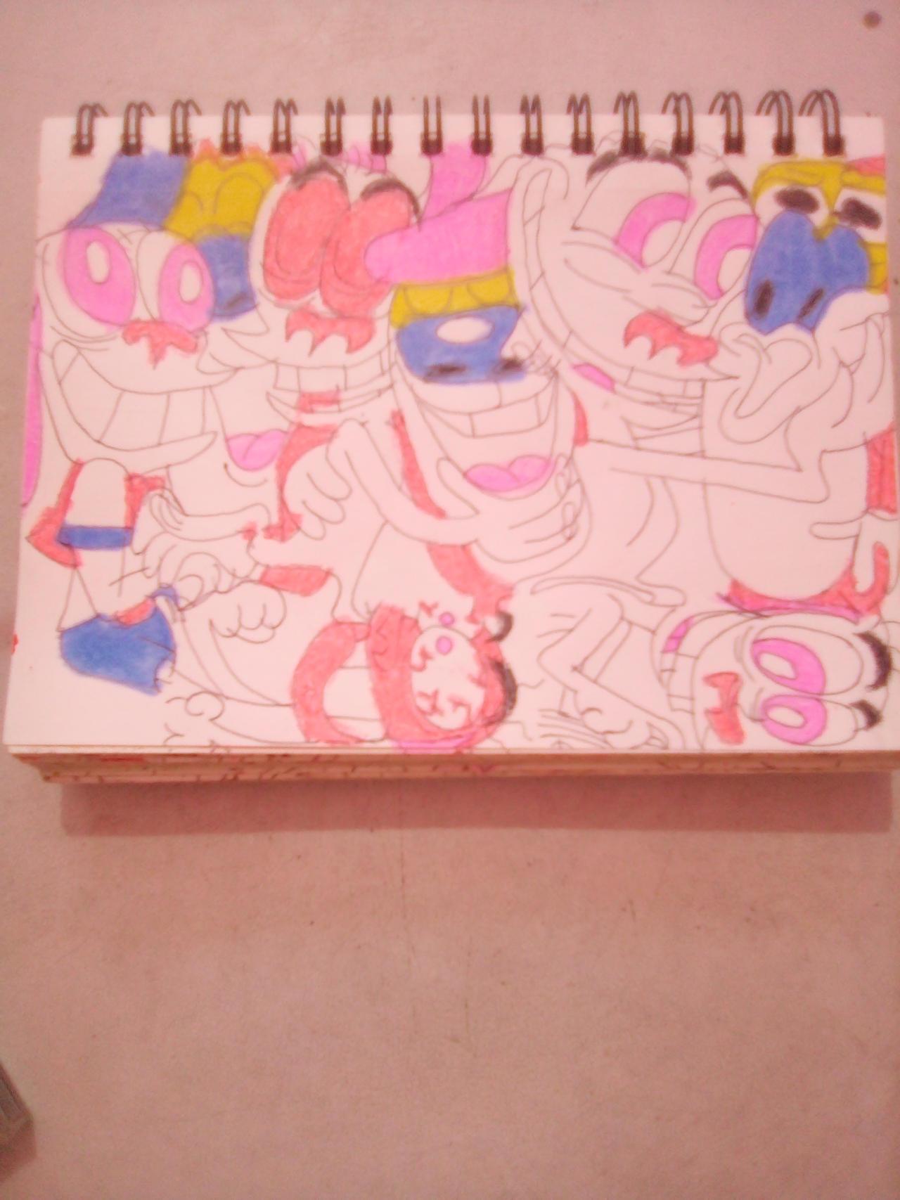 Random Ren and Stimpy drawings 2