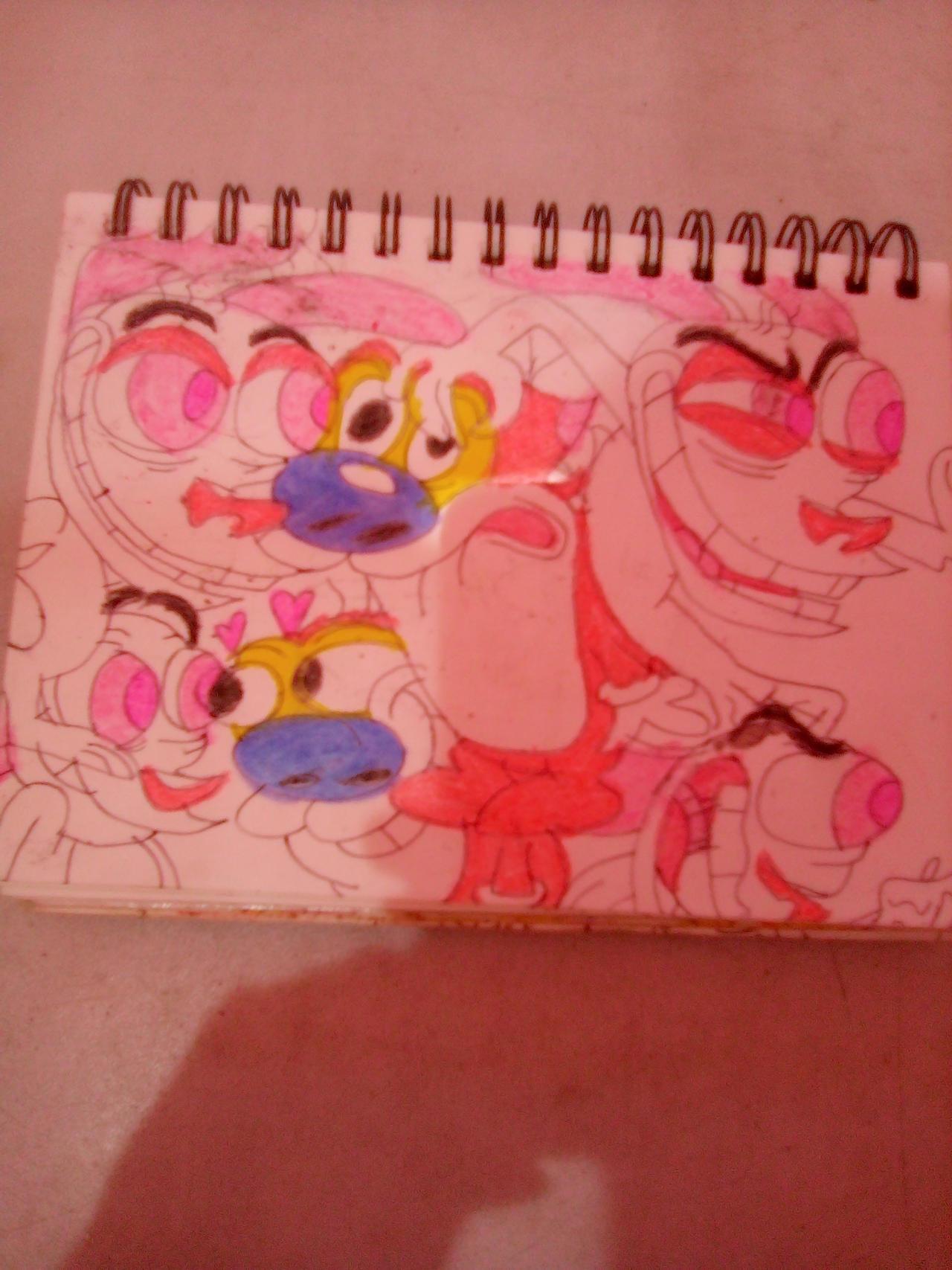 Random Ren and Stimpy drawings 4