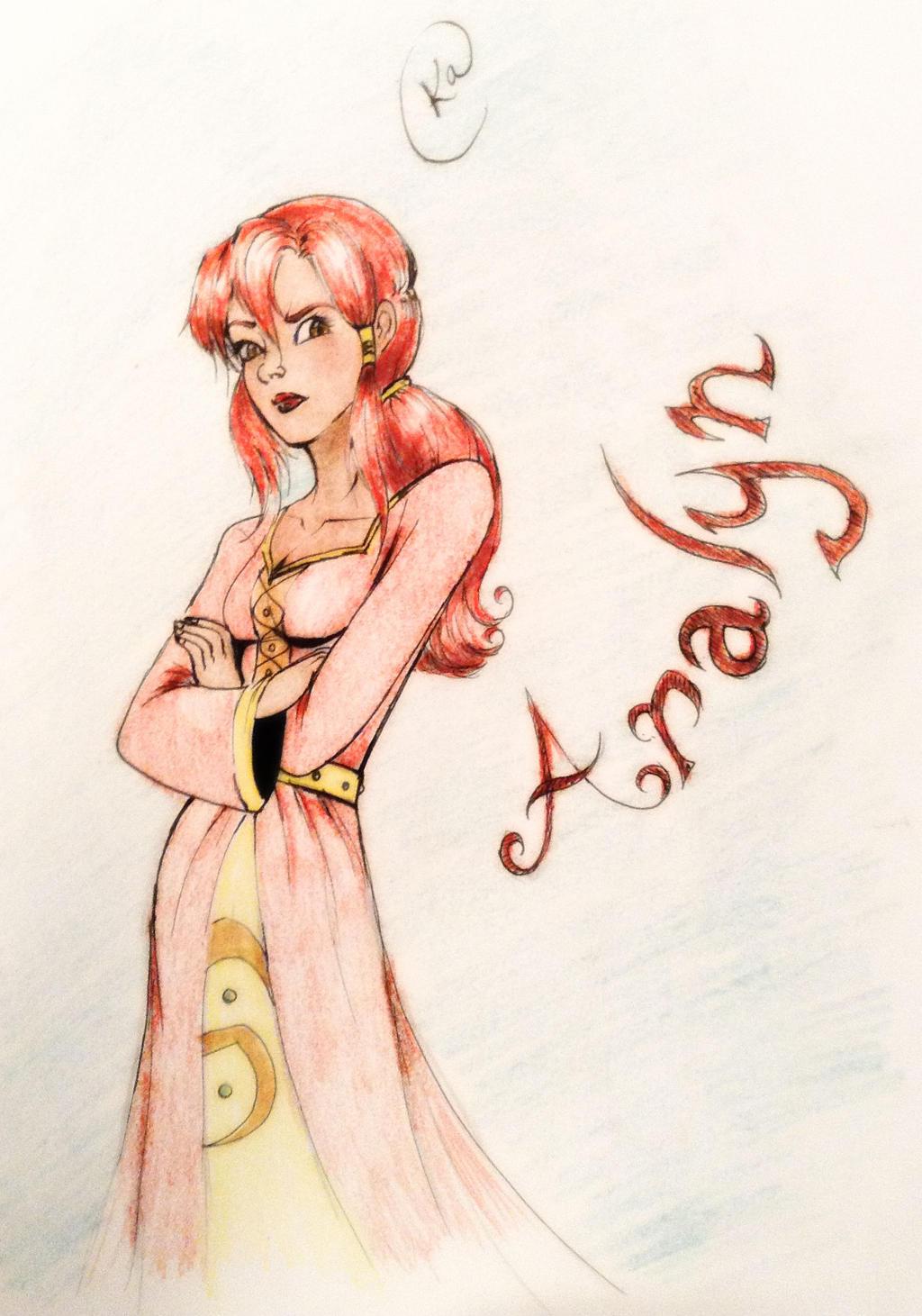 Aralyn by SilvianArt