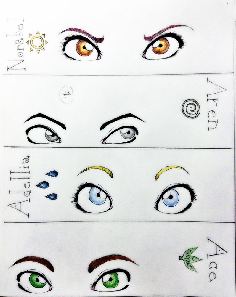 Eyes by SilvianArt