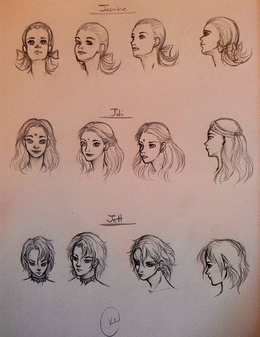 Head Practice by SilvianArt
