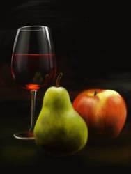 Wine Me by DVLArt