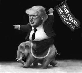 Donald Trump by DVLArt