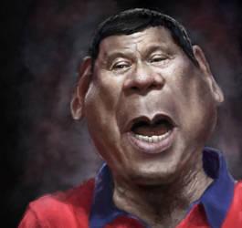Rodrigo Duterte by DVLArt