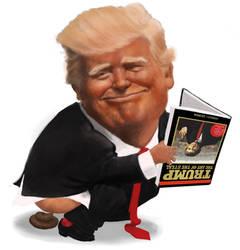 Trump's gift by DVLArt