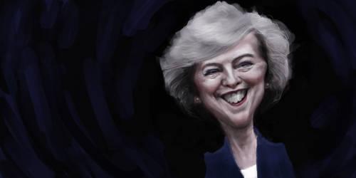 Theresa May by DVLArt