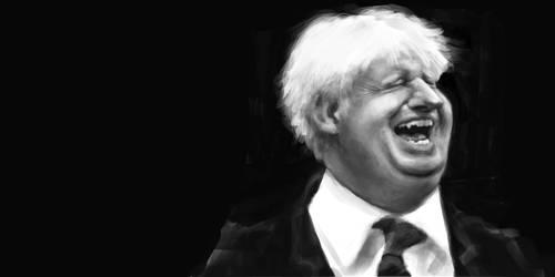 Boris Johnson by DVLArt