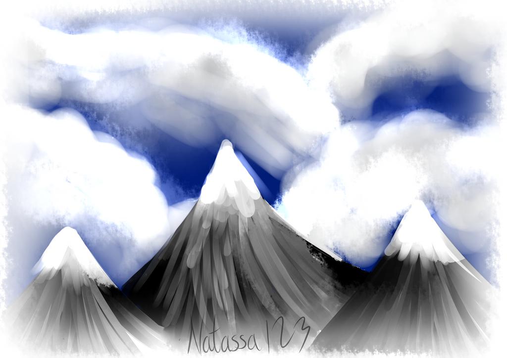 mountains by Natassa123