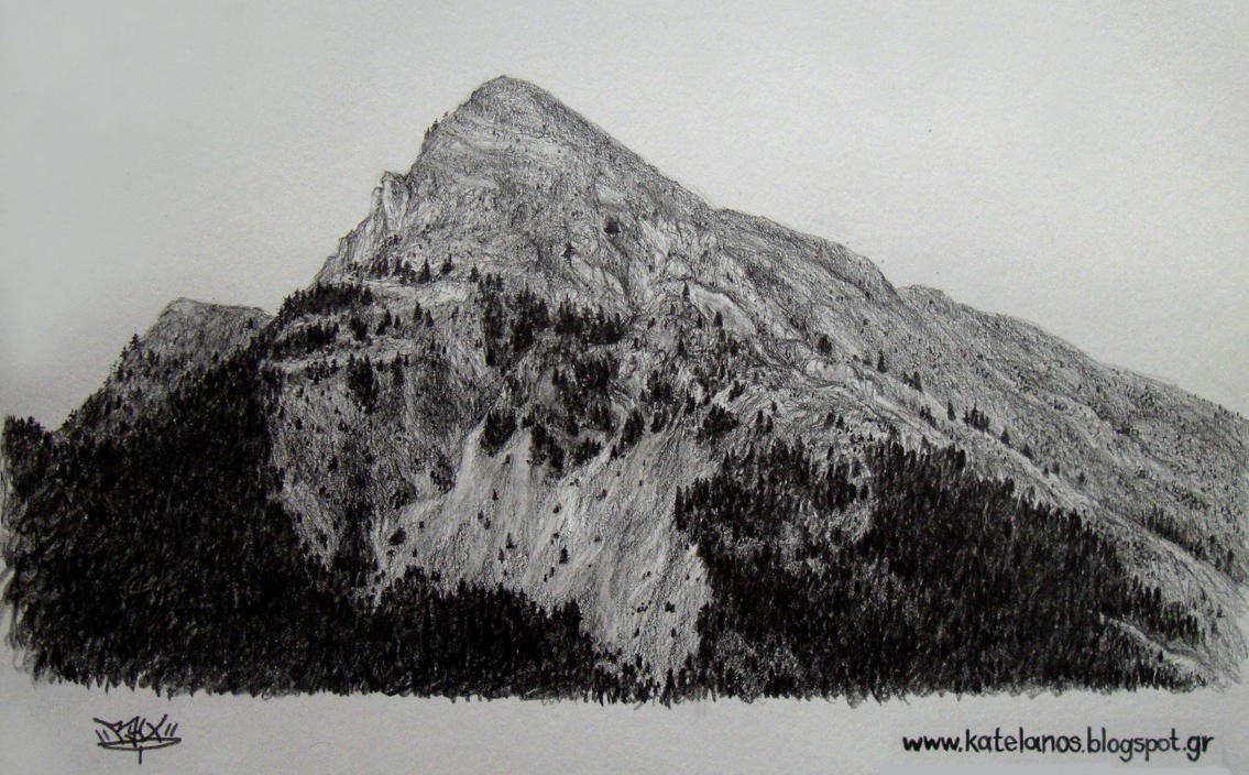Anninos mountains sketch by RawVerse