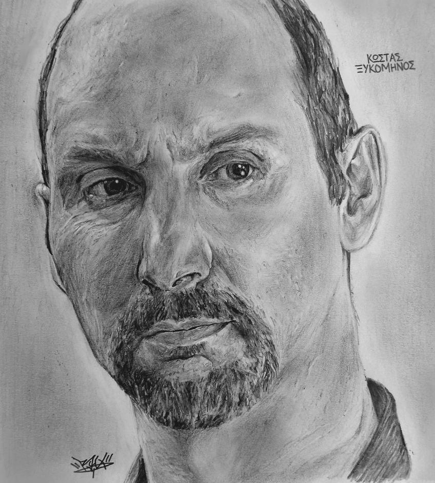 Kostas Ksikominos sketch by RawVerse