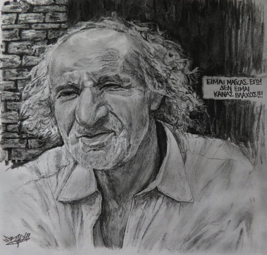 Bilias from Agrafa sketch by RawVerse