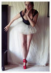 Red shoes stock 1