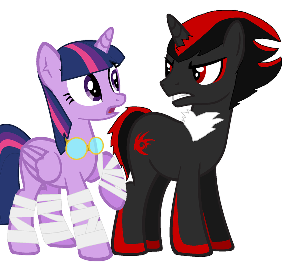 Twilight meets Shadow the Hedgehog by icefir on DeviantArt