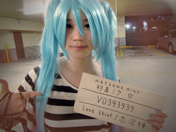 Hatsune Miku: Love Thief by angelaalee